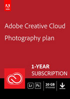 Creative Cloud Photography Plan - 20 GB