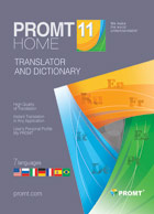 PROMT Home 11 (one language pair)